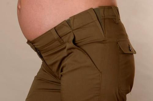 Выкройка джинсов для беременной