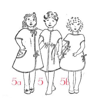 Выкройка вязаных штанишек