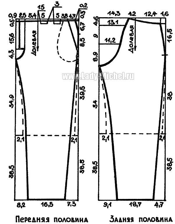 Выкройки женской одежды шорты